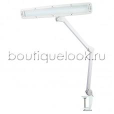 Настольная лампа REXANT 84 LED на струбцине, с сенсорным управлением, белая
