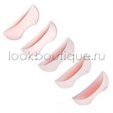 Валики розовые рельефные: 5 размеров