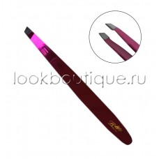 Пинцет Look Boutique макси розовый