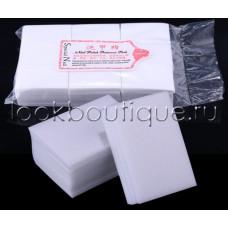 Салфетки белые одноразовые безворсовые (600 шт./уп.)