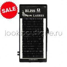 Ресницы черные BLISS отд. длины, изгиб D