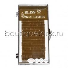 Ресницы BLISS горький шоколад микс, изгиб C