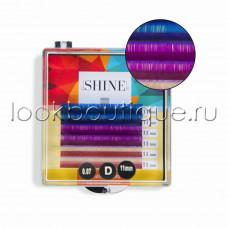 Мини-палетки elSHINE цветные (голубой/фиолет/сиреневый), отд. длины, 6 лент