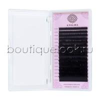 Черные ресницы Enigma микс 0,10/M/7-14 mm (16 линий)
