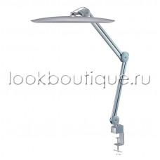 Лампа светодиодная SmartLight на струбцине, (серебряная и розовая)