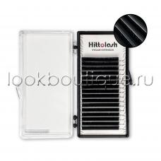 Ресницы черные Hittolash, микс, 16 лент
