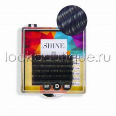 Мини-палетки elSHINE 2-х тоновые (фиолетовый), микс, 6 лент