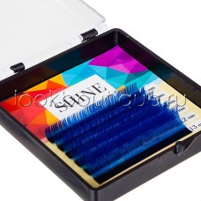 Мини-палетки SHINE цветные (синий), 6 лент